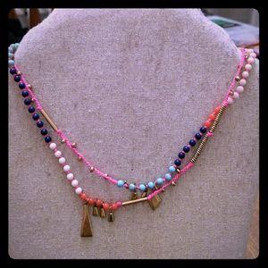 Vibrant & Versatile Stella & Dot beaded necklace